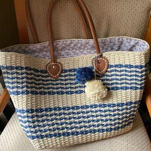 Handbags - Tan Beach Tote